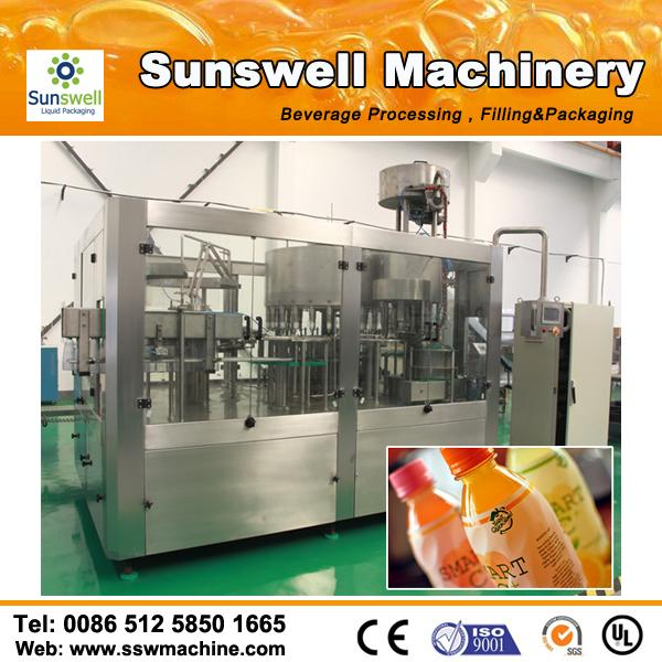 300ml - 2000ml Automatic Juice Filling Machine Bottled Water Filling