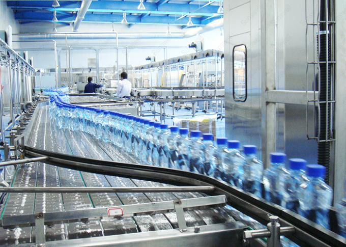 A - Z Turnkey Project Mineral Water Filling Machine / Packing Line / Water Treatment System