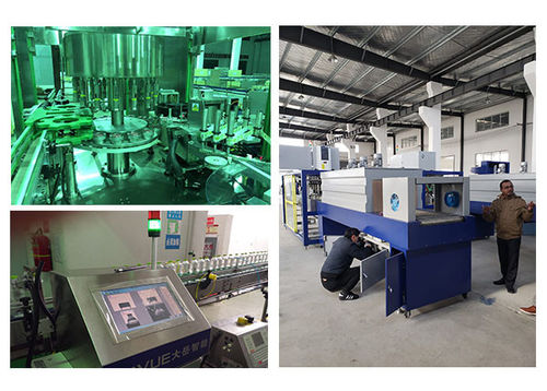 china latest news about SUNSWELL 12000BPH 1500ml blowing and spinning line for Maldivian customers