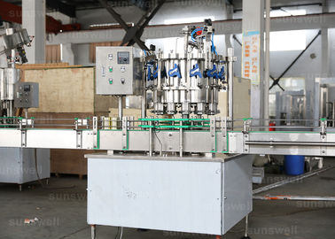 China Aluminum energy drinks, beer Pop Can automatic rotary Filling Machine 1,500BPH (330ml) factory