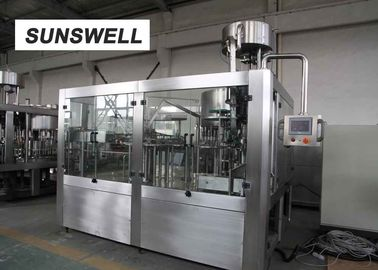 China PE Film Shrink Wrapping  Juice Filling Machine   Within ± 2mm  Control Accuracy factory