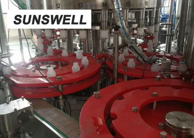 China Customized Juice Filling Equipment  Blowing  All Sides Of Bottles With Fast Flowing Air. factory