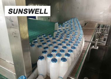 Yoghurt Plastic Thermoforming  Filling Sealing Machine With 2 Years Machine Warranty