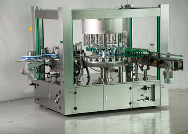 China One Side Ropp Automated Labeling Machine , Hot Melt Glue Bottle Label Applicator factory