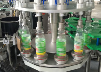 China Hot Melt Opp ROPP Sticker Labeling Machines For Bottles , Label Applicator Equipment factory