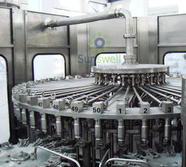 China High Speed Stainless Steel  Filling Machine Juice Production Line factory