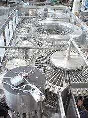 Rotary Multi-Head Hot Filling Machine , milk packing machine