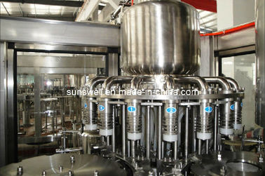 China Plastic Bottle Hot Filling Machine 3 In 1 For Fruit Juice Processing supplier