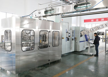 China CE Industrial Bottling Machine , Water Blowing Filling Capping Combiblock factory