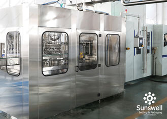China Aseptic Blowing Filling Capping Combiblock Production Line / Bottling Plant factory