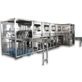 5 Gallon Bottle Pure / Mineral Water Washing Filling Capping Machine User Friendly