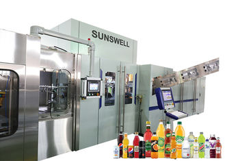 China Combi Block Monoblock Bottling Machine Carbonated Non Alcoholic Beverage Drink Machine factory