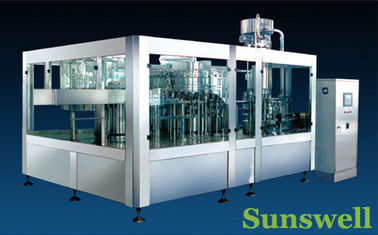 China Stainless Steel Tea Filling Machine , Semi-Automatic Liquid Filling Line factory