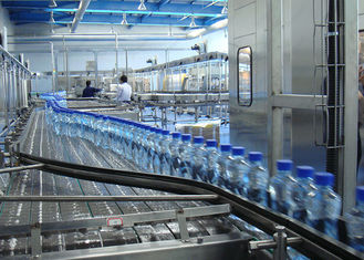 Plastic Bottle Drinking Water Filling Equipment , Water Bottle Packing Machine