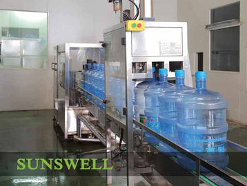 China Full-auto 5 Gallon Water Filling Machine With Washer / Filler / Capper factory