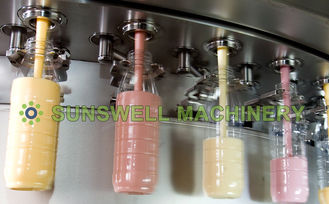 China Bottle Juice Juice Filling Machine / Juice And Tea Hot Filling Line supplier