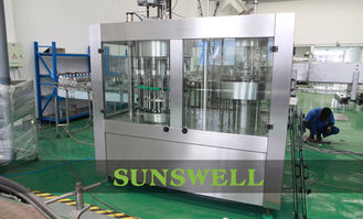 China Automatic Water Filling Machines For Liquid / PET Bottle factory
