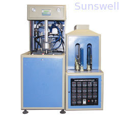 China 380V / 14KW Semi-Automatic Bottle Blow Molding Machine to make PET bottles for edible oil factory