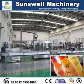Automatic Hot Filling Machine , Glass Bottled Grape Juice Making Machine