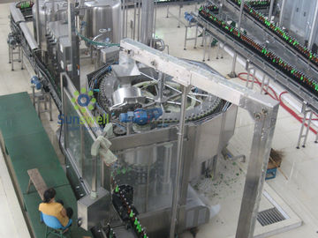 China Glass Bottle Beer Filling Machine Automatic Multi-Head With Multi-Room Feeding factory