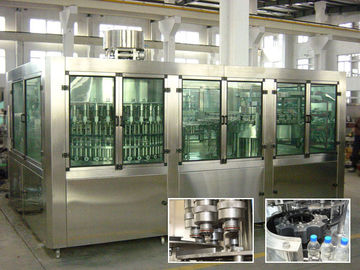 China Drinking Pure Water Filling Machines With Rinser 40 / Filler 40 / Capper 10 factory