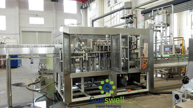 China Bottle Liquid Hot Filling Machine High precision For Fresh Orange Juice factory