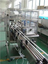 China PLC & HMI  Controlled Automatic Piston filling machine four heads for high viscous paste factory