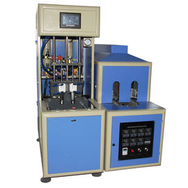 China 4 cavity Semi-automatic bottle Blow Molding Machine make  PET plastic containers for water factory