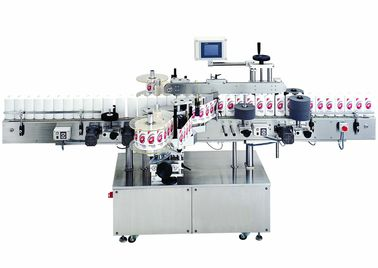 China Food and Beverage Automatic cold glue labeling machine for round bottles 380V, 50Hz factory