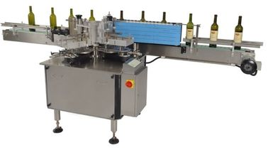 China 400w Automatic Single Side Self adhesive Sticker Labeling Machines Eequipment for Bottles factory