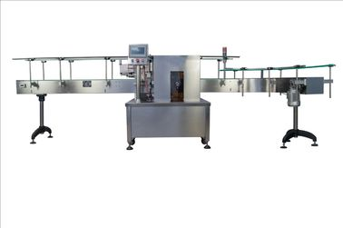 China 5 Gallon Bottle Single Side Self-adhesive Sticker Labeling Machine / machinery 220V  3kw factory