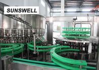 Sunswell Customized Bottle Shape  Liquid Filling Machine  With Aluminum Foil Sealing supplier