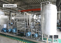 China Common Temperature Carbonated Filling Machine  With Flow Meter  Tecnology factory