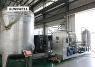 China Electricity Saving Carbonated Filling Machine  With YHZ Type Mixer Used In Chiller And Warmer factory