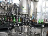 China Full Automatic Beer Filling Machine With Rotary / Linear Structure For Glass Bottle factory