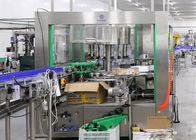 Glass PET Bottle Labeling Machine , High Speed Beverage Packaging Equipment