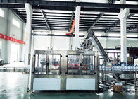 SGS Automatic Glass Bottle Filling Equipment Rinsing Filler Capping And Packing