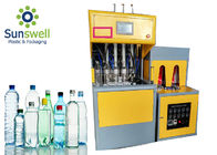 Semi Automatic Mini Injection Blow Moulding Machine Making PET Water Bottle