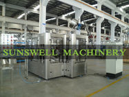 China PET Bottle Carbonated Filling Machine , Soft Drink Automatic Filling Line factory