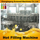 China Fully Automatic Juice Filling Machine , 3-in-1 PET Bottle Juice Producing Line company