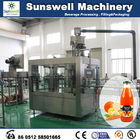 China Constant Pressure Hot Filling Machine , 3 In 1 Juice Production Line factory