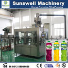 China 3-In-1 Hot Filling Machine , Stainless Steel Juice Filling Machine factory