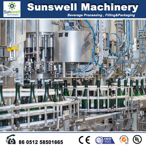 1200 Capacity Beer Bottling Machine Automatically Transferred By A Star Wheel supplier