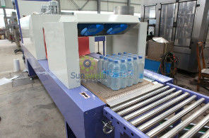 High Speed Shrink Packaging Equipment , PE Film Beverage Wrapping Machinery