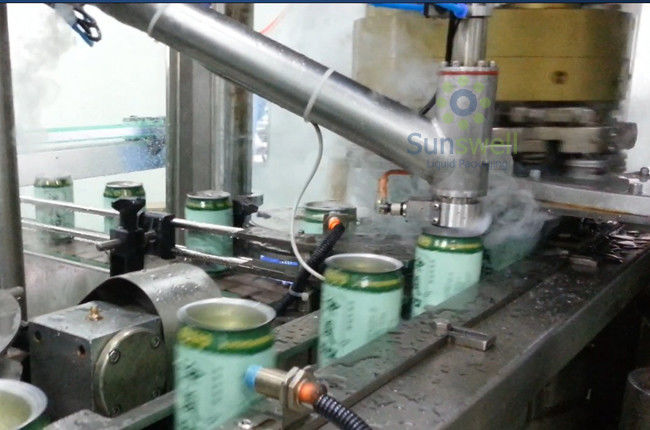 Aseptic Stable Liquid Nitrogen Dosing Machine High Speed For Possessed Individual Injecting supplier