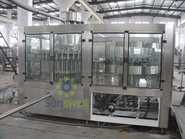 Customized Tea Filling Machine , Automatic Hot Filling Tea Line supplier