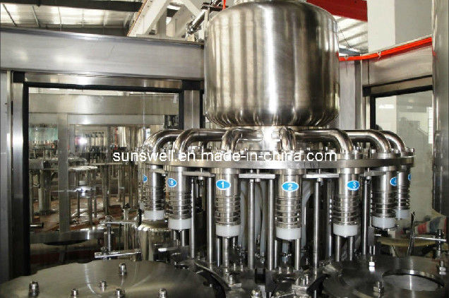Plastic Bottle Hot Filling Machine 3 In 1 For Fruit Juice Processing supplier