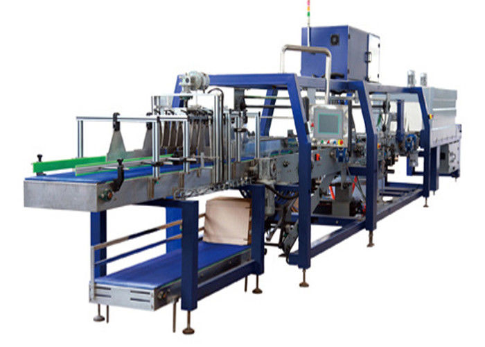 Electric Carton Wrapping Machine And Box Stretch Wrapping Machine Customized Voltage