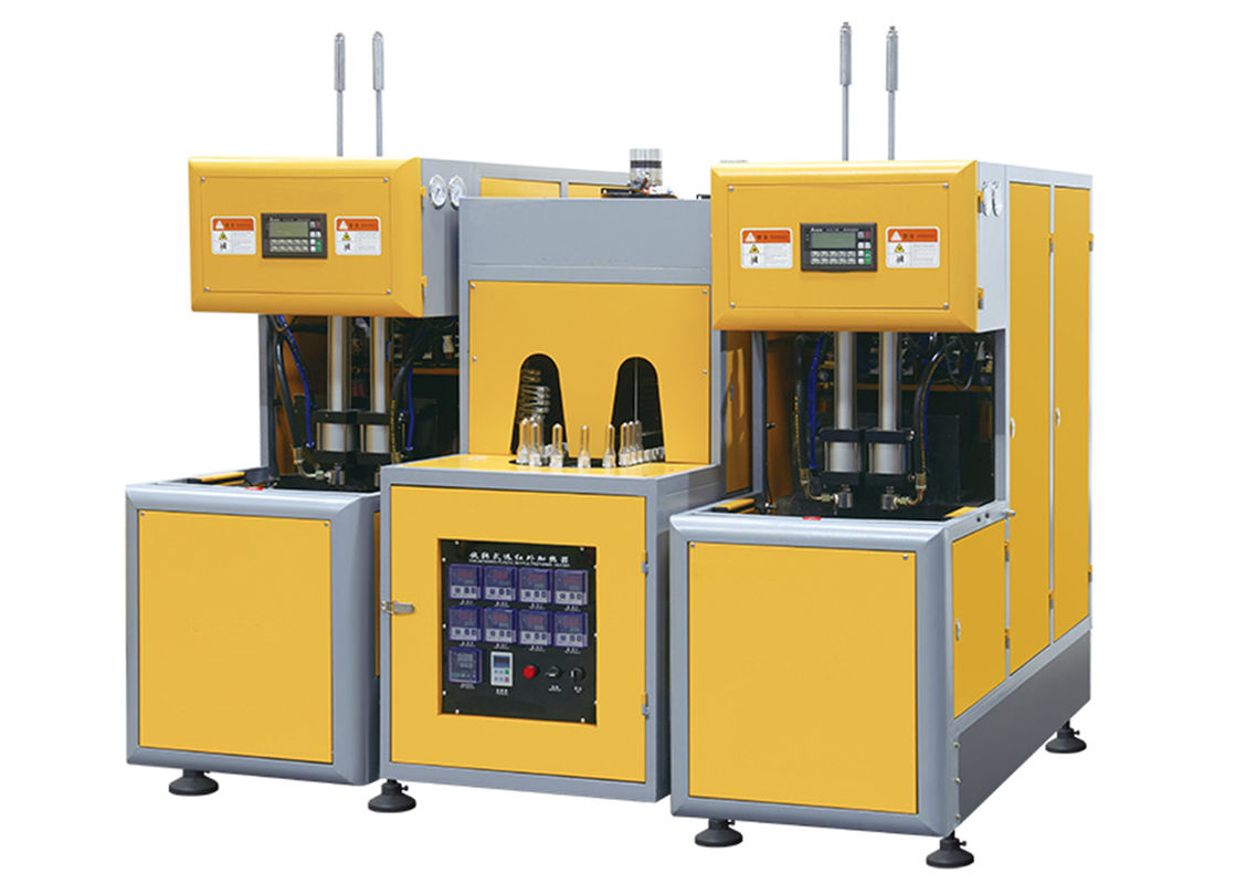 Semi - Automatic Stretch Blow Moulding Machine 1500BPH - 2000BPH 2 Cavity