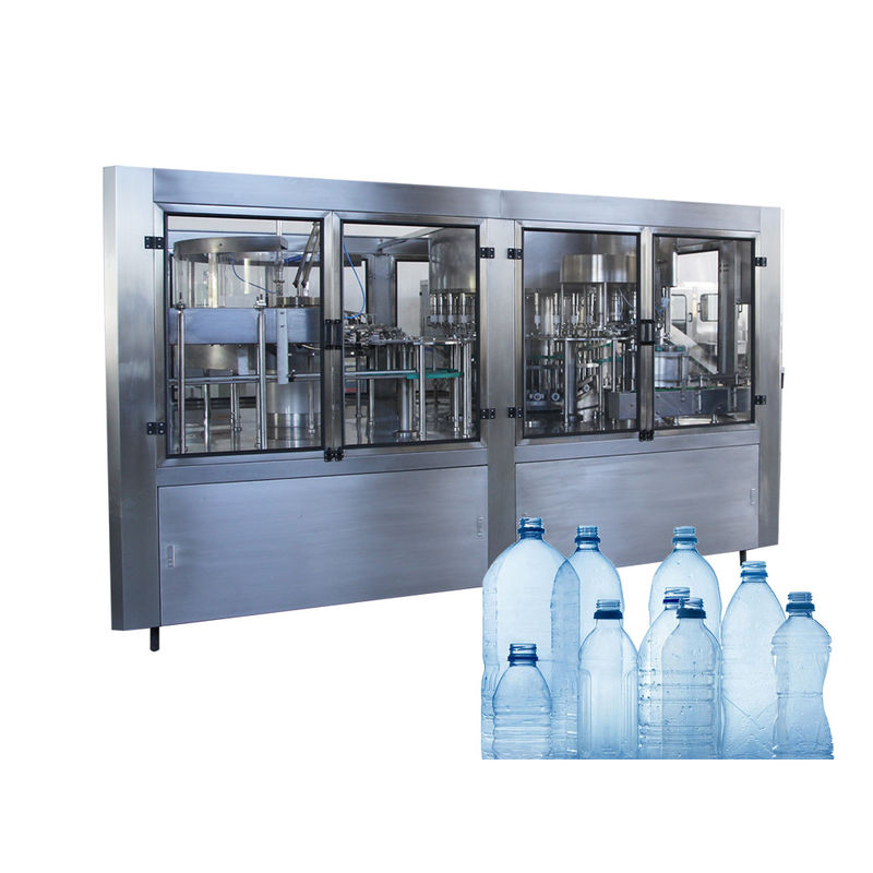 Pure Spring Water Barrel Filling Machine Washing Capping Sealing Labeling Line
